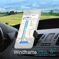 display cell phone - Car Holder Airframe style Mount For iPhone plus s s Holder Samsung S5 GPS Display Stand Support For Cell Phone bracket