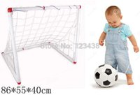 Wholesale 86 cm Kids Children Big Inflation Soccer Football Sports Inflator Toys for Boys Set Outdoor Fun Sports