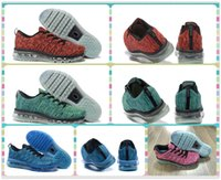 athletic training products - New Product Fly Running Shoes Fashion WoMen Running Sneakers Sports Shoes Athletic Max Shoes Gold Red Green Black Light Blue Training