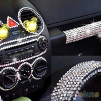 Wholesale 260 set Beauty mm Dot Say It In Crystals Rhinestones Car DIY Decal Decor Stickers Styling Accessories EN