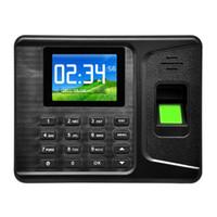 Wholesale Realand Finger Print Door Lock quot TFT USB LCD Biometric Fingerprint Attendance Machine DC V A Time Recorder A E260 order lt no track