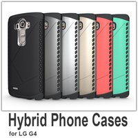 g4 cell phone - Brand New in Hybrid Cell Phone Case for LG G4 Mobile Phone Protective Shell Colors