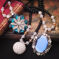 Wholesale Small jewelry fashion best match restore ancient ways adornment necklace long women sweater chain