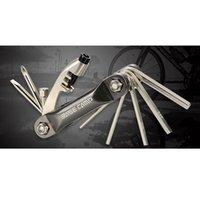 aluminium repair kit - Aluminium Alloy Bike Accessory Bike Repair Tool Combined Bicycle Tools Set Bike Maintenance Tool Kit Screwdriver Wrench Hex Key