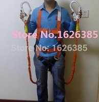 climbing harness - good quality M with ropes big hooks buffering waist belt hiking altitude belt mountain climbing harness