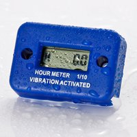 truck and engine - Waterproof Vibration wireless hour meter for gas diesel engine and electric motor lawn mower chain saw tractor truck