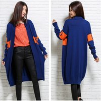 Wholesale Cardigans Style For Women - Jacquard knit Style Long Cashmere Sweater Cardigan Coat For Women 2016 Spring Autumn Knitted Outwear Fashion Long Cashmere Cardigan BF028
