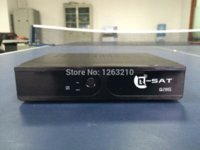 Wholesale free DHL Newest q sat q28g qsat q28g q sat q28 hd gprs DVB S2 dvb t2 receiver combo q sat Afirca free hd dongle stv decoder