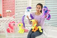 Wholesale New Arrival cm My Little Pony Plush Cartoon plush Dolls Stuffed Toys Plush Animals children s gift