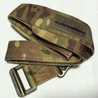 airsoft military gear - Men Army Military Gear Airsoft Paintball SWAT Belt Combat Tactical Blackhawk CQB rappel Tactical Belt Multicam MC Atacs