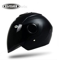 Wholesale GSB Half helmet motorcycle helmets Electric bicycle helmet Motor bike helmet casco for Men and Women