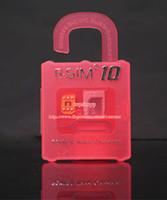 Wholesale Original New Unlock Card R SIM RSIM R SIM directly used for iphone plus s c iOS6 X X WCDMA GSM CDMA working