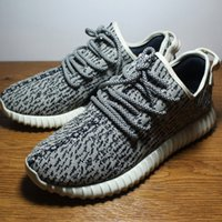 cotton fabric uk - Double Box Best Running Shoes Mens Kanye West Boost Kicks Distribute To US UK Canada Brand New Boost Factory Price Dropshipping