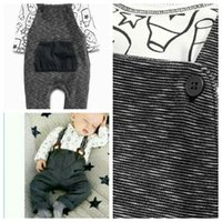 baby boy sweater vest outfits - 2015 Spring Autumn baby boys cute outfits kids long sleeve sweater suspender pants kids clothes suit