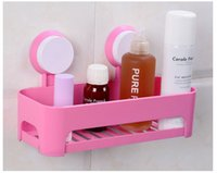 Wholesale Bathroom storage box storage racks strong sucker bathroom toilet toilet toilet bathroom wall shelving angle bracket