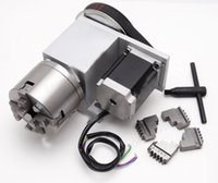 Wholesale CNC Engraving Router Rotational Axis th Axis A axis Jaw mm Lathe Chuck