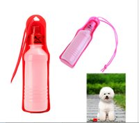 Wholesale Potable Pet Dog Cat Water Feeding Drink Bottle Dispenser ml Blue Red Pink Dropshipping H8769