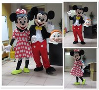 Wholesale 100 And the same picture high quality Mickey Mouse Mascot Mickey Mouse mascot costume