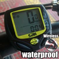 Wholesale Guaranteed Brand New Bicycle Accessories LCD Computer Wireless Waterproof Bike Odometer Speedometer
