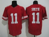 Cheap Cheap Hot Sale Elite jerseys #11 swith Red while Stitched Authentic jersey American Football Jerseys Mix Order