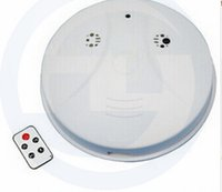 Wholesale 1pc Smoke Detector Model with Hidden Camera DVR and Motion Detection Surveillance DVR