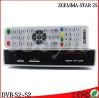 Wholesale 20pcs Original ZGEMMA STAR S Digital Satellite TV Receiver Two DVB S2 Tuner Enigma2 Linux box Zgemma star S