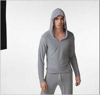 Wholesale Polyester yoga wear Bathrobes nightclothes leisure pajamas Long sleeved hoodie