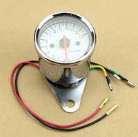 Wholesale Universal Mechanica RPM Scooter Analog Tachometer Gauge For Motorcycle order lt no track