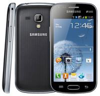 al por mayor los teléfonos galaxy s-Reformado El teléfono celular Samsung S7562 Galaxy S Duos Android 4.0
