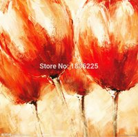 Cheap best selling handmade items painted canvas modern abstract beautiful modern flower oil paintings for bathroom ideas photos