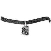 arizona metal - Metal Silver Statement Arizona Map Dangle Charm Rope Bracelets DIY Men Jewelry Silver Chain New Design Pendant