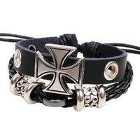 Cheap Charm Bracelets cross Bracelets Best Alloy Chirstmas woven bracelet