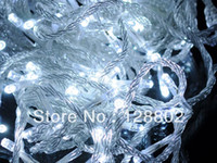 Wholesale New White LED Light m V for Party Wedding Holiday XMAS Christmas tree Decoration lamp light strip light string