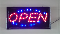 OPEN LED sign - Neon Lights LED Animated Open Sign Customers Attractive Sign Store Shop Sign