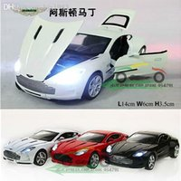 antique train sets - Wanbao Aston Martin One Pull Back Acousto optic Toys Car Classic Alloy Antique Car Model