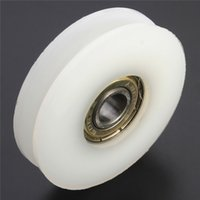 Wholesale Unique Design Round Groove nylon pulley wheels roller for slide gate angle bar drawers Quality Assurance