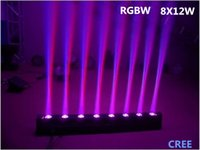 Wholesale CREE LED Bar Beam Moving Head Light RGBW IN1 x12W Perfect for Mobile DJ Party nightclub AC90V V