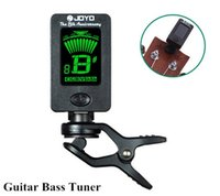 Wholesale Guitar Bass Tuner Afinador Mini LCD Clip on Degree Rotatable Clip Tuner for Chromatic Guitar Bass Violin Ukulele