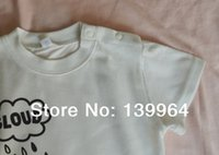 baby stores free shipping - children s clothing T shirt for baby summer cotton new fashion factory store