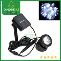 best portable spotlight - 2015 Led sale the best lights Leds Outdoor Solar Powered LED Spotlight lamp Garden Pool Pond Waterproof Led Spot Light Lamps led lighting
