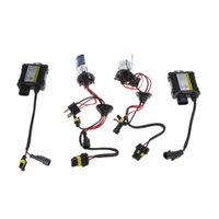 Wholesale Slim Hid Lights - H4-2 H4-L 55W 6000K HID 9-16V Xenon HID Conversion Kit Set Replacement Bi-xenon Slim Ballast Headlamps Foglight Bulbs Lights