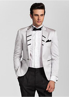 Cheap Latest - customize a button white wedding suit lapel incision the groom, holds the suit man PROM dress for dinner