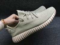 Wholesale 2016 Oxford Tan With Origina Box Yeezy Boost Pirate Black Low Sport Running Shoes moonrock Women and Men Footwear Shoes Training Boots