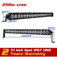 Wholesale 51inch w CREE LED Light Bar ATV Tractor LED Offroad Light Bar X4 LED Bar Offroad LED Drive Light Seckill w w w