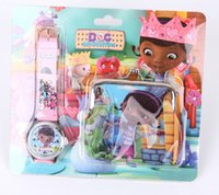 battery doc - New set Doc McStuffins Wristwatch and Hasp Package Purses TB06