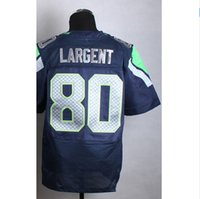 best sports logo - Factory Outlet cheap Steve Largent Jersey Elite Football Jersey Best quality Authentic Sports Jerseys Embroidery Logo Accept Mix Order