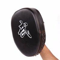 Wholesale NEW Sports Pro Boxing Mitts Training Coaching Target Pads Gloves Glve Muay Thai Kick MMA