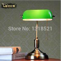 Wholesale Modern European study white table lamp retro bedroom desk lamp home decorative light fixture lamp order lt no track
