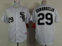 pinstripe baseball jerseys - Chicago White Sox Jeff Samardzija Jersey Baseball Jerseys Home White pinstripe Jersey Stitched Baseball Cool base Jersey