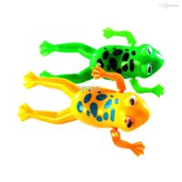 Cheap Wholesale-10pcs Funny Clockwork Bathing Toys Animals Fish  Shrimp  Turtle Baby Shower Swimming Pool For Baby Kids Gift